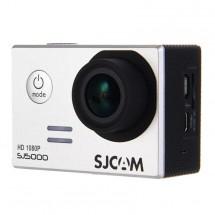Akční kamera SJCAM SJ5000 + hromada příslušenství, bílá
