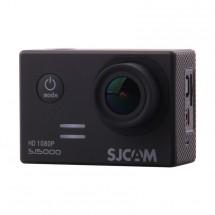 Akční kamera SJCAM SJ5000 + hromada příslušenství, černá
