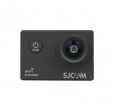 Akční kamera SJCAM X1000 + hromada příslušenství, černá