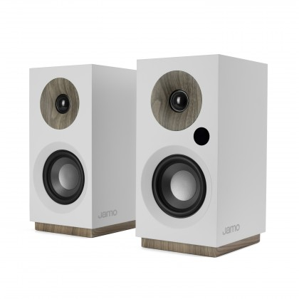 Aktivní stereo reprosystém JAMO S 801PM, bílý