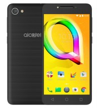 Alcatel A5 LED 5085D Metallic Black + držák do auta
