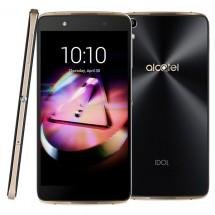 Alcatel OT-6055K IDOL 4+, černá, zlatá