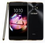 Alcatel OT-6070K IDOL 4s, černá/zlatá