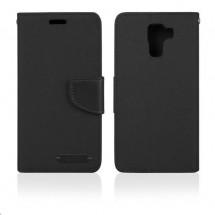 Aligator pouzdro BOOK FANCY pro Samsung Galaxy J1, černá PBOFAJ1B