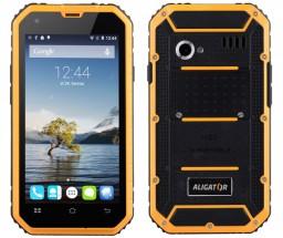 Aligator RX450 eXtremo, černo-žlutý NEKOMPLETNÍ PŘÍSLUŠENSTVÍ + dárek