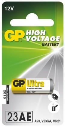 Alkalická speciální baterie GP 23AF, 1 ks v blistru