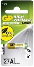 Alkalická speciální baterie GP 27AF, 1 ks v blistru