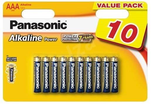 Alkalické baterie Baterie Panasonic Alkaline POWER AAA 10ks