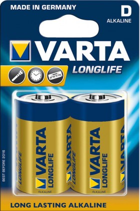 Alkalické baterie Baterie VARTA Longlife D