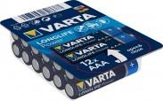 Alkalické baterie Longlife Power AAA 12ks