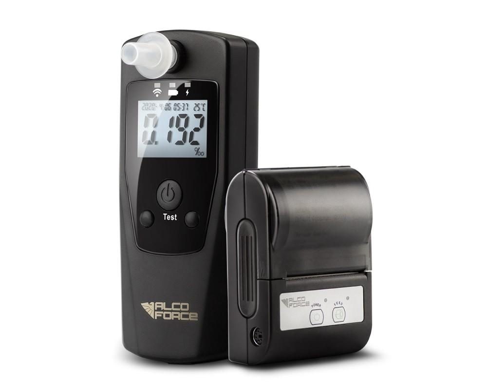 Alkohol testery,transmitery, kabeláž Alkohol tester AlcoForce Cobra-KIT