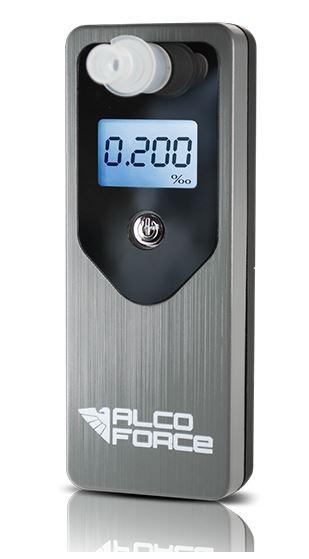 Alkohol testery,transmitery, kabeláž Alkohol tester AlcoForce Optima POUŽITÉ, NEOPOTŘEBENÉ ZBOŽÍ