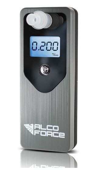 Alkohol testery,transmitery, kabeláž Alkohol tester AlcoForce Optima