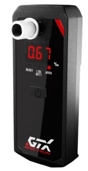 Alkohol testery,transmitery, kabeláž Elektrochemický alkohol tester GTX Spectrum