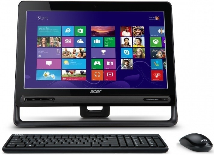 All in one PC sestava Acer Aspire ZC-605 (DQ.SQ9EC.001)
