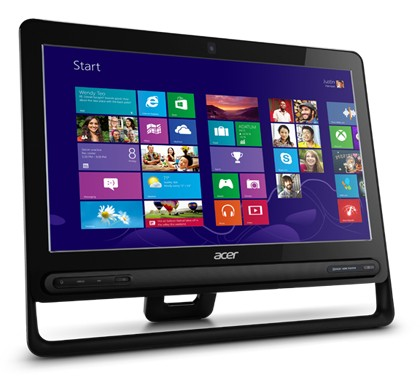 All in one PC sestava Acer Aspire ZC-605 (DQ.SQMEC.001)