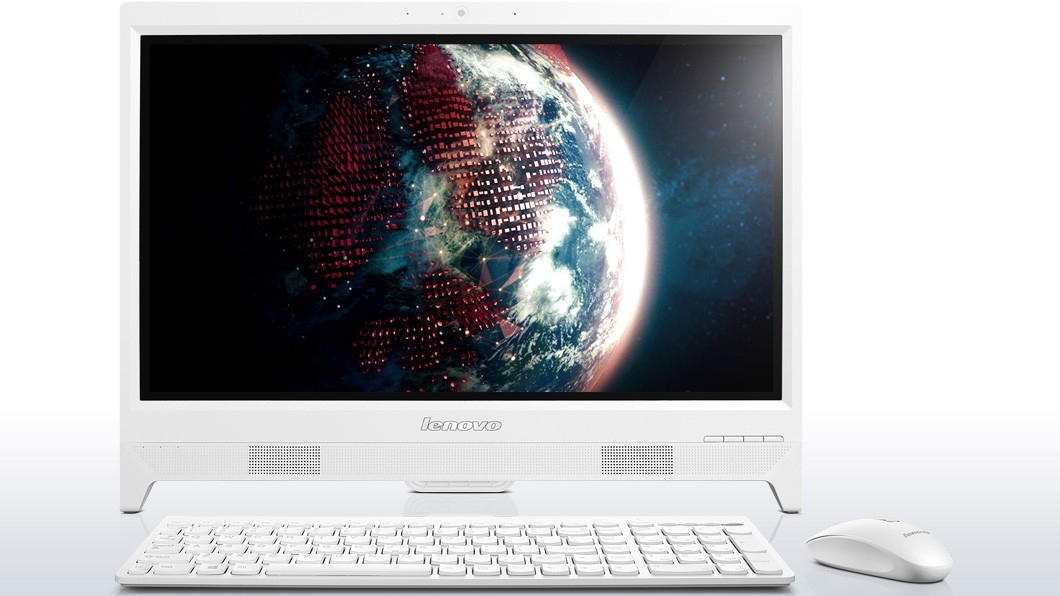 "All in one PC sestava AIO C260 19.5 ""+ / J1800 / 4G / 1T / IN / RW / W8.1, wht"