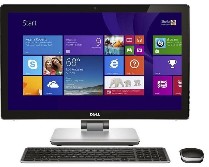"All in one PC sestava DELL Inspiron 2350 AIO Touch 23""/i7-4700MQ/12G/32G+1TB/AMD 2G/W8"