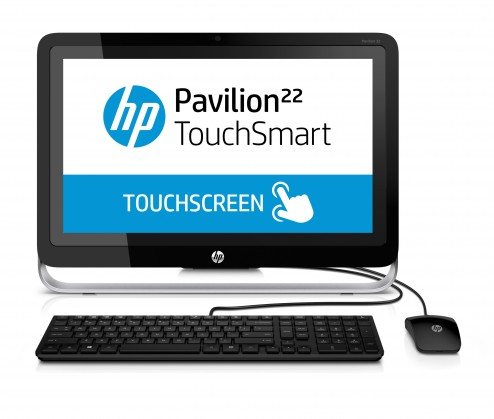 "All in one PC sestava HP-AIO Pavilion 22-h000ec 21,5"" touch/A4-5000/4GB/500GB/ATI/W8"