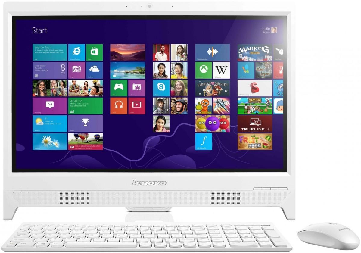 All in one PC sestava Lenovo Desktop AiO C260 White 57-330154