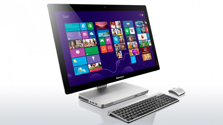 All in one PC sestava Lenovo IdeaCenter AIO A530 23T''/i5-4200/8+1T/4G/DVD/HD/B/TV/W8