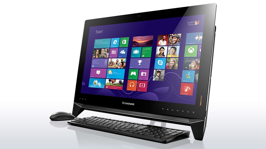 All in one PC sestava Lenovo IdeaCenter AIO B550 23''T 3D/i5-4440/8+1T/8G/BR/AMD/W8