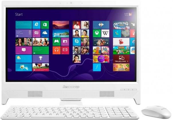 "All in one PC sestava Lenovo IdeaCentre AIO C260 19,5""/Celeron J1200/500G/4G/DVD/W8.1"