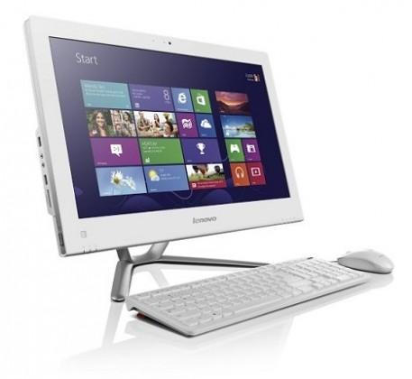 All in one PC sestava Lenovo IdeaCentre AIO C340 bílá (57320473)