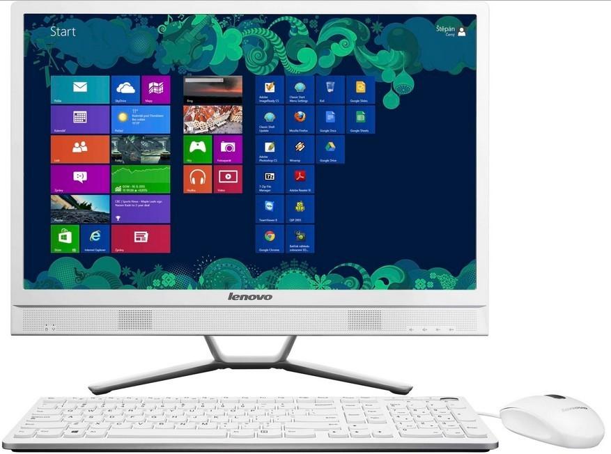 """All in one PC sestava Lenovo IdeaCentre AIO C470 21,5""""/Intel 2957U/500G/4G/DVD/W8.1"""