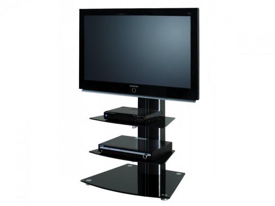 Alladyn 2 - TV stolek s držákem (černá)