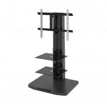 Alladyn - TV stolek s držákem (černá)