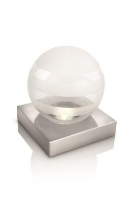 Aloha - Lampička LED, 14cm (matný chrom)