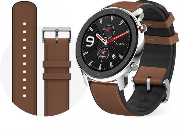 Amazfit GTR Chytré hodinky Amazfit GTR 47mm, stříbrná