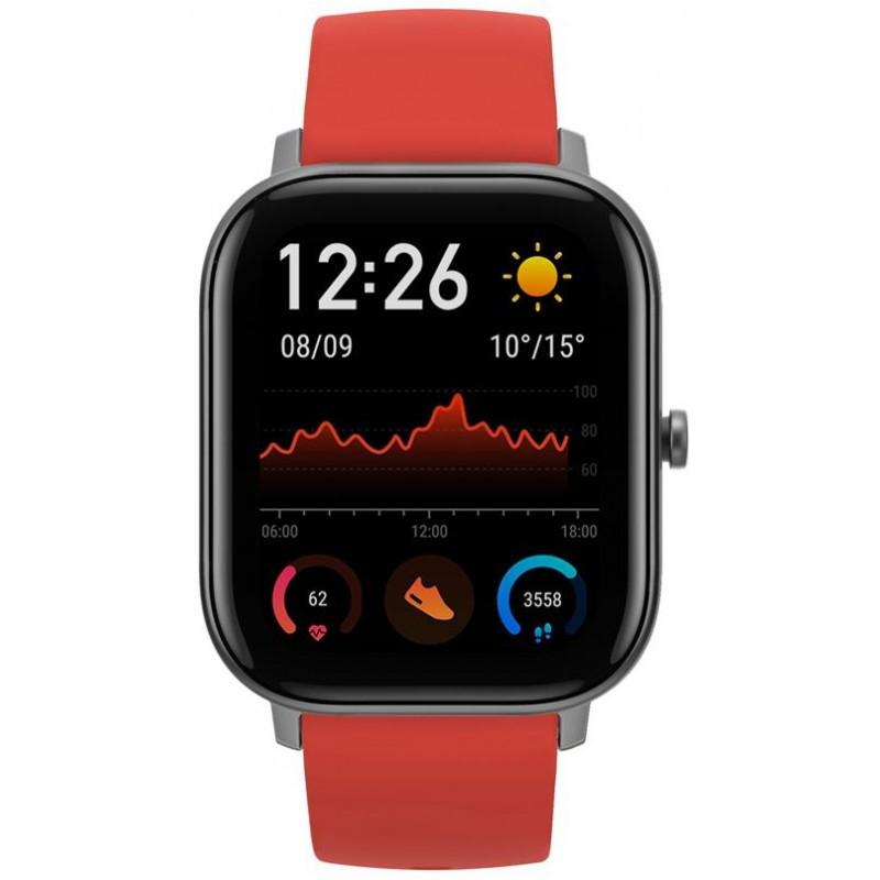 Amazfit GTS Chytré hodinky Amazfit GTS, oranžová