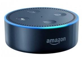 Amazon Echo Dot, hlasový asistent 2. generace, černý