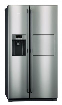 Americká lednice AEG S86090XVX1 VADA VZHLEDU, ODĚRKY