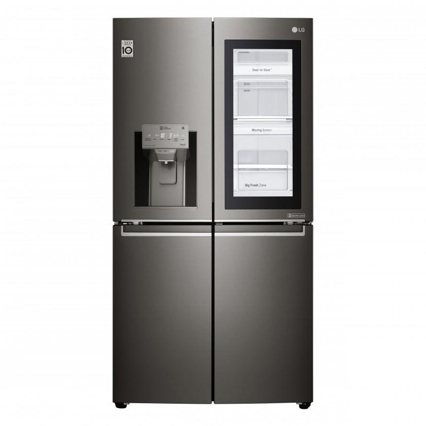 Americká lednice Americká 4dvéřová chladnička LG GMX936SBHV