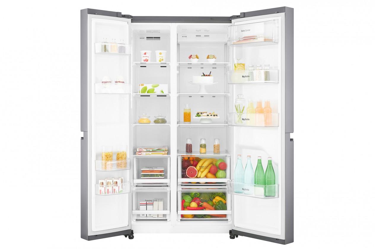 Americká lednice Americká lednice LG GSB760PZXZ