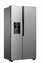 Americká lednice Gorenje NRS9182VX,A++ + dárek TV Hisense 32A5100F