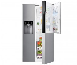 Americká lednice s technologií Door in Door LG GSJ361DIDV POUŽITÉ