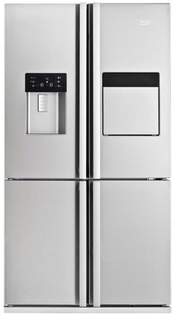 Americká lednička Beko GNE 134631 X