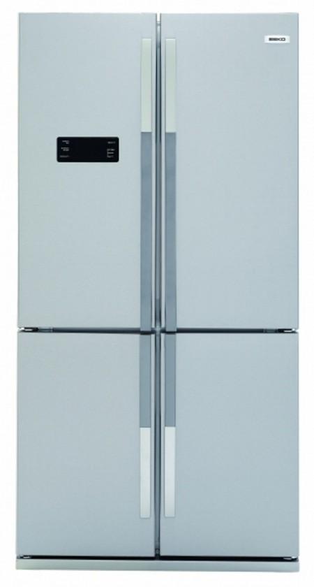 Americká lednička Beko GNE114613X