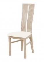Andre I - jídelní židle (dřevo - dub sonoma/potah - látka)