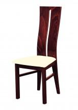 Andre I - jídelní židle (dřevo - sołtysiak/potah - látka)