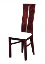 Andre I - jídelní židle (dřevo - sołtysiak/potah - syntetická kůže)