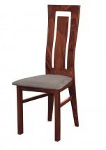 Andre II - jídelní židle (dřevo - sołtysiak/potah - látka)