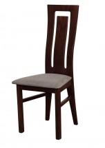 Andre II - jídelní židle (dřevo - wenge/potah - látka)