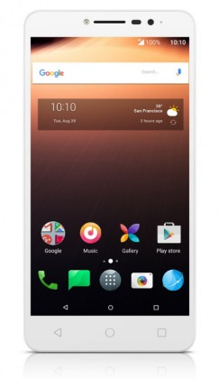 Android ALCATEL A3 XL 9008D White Silver