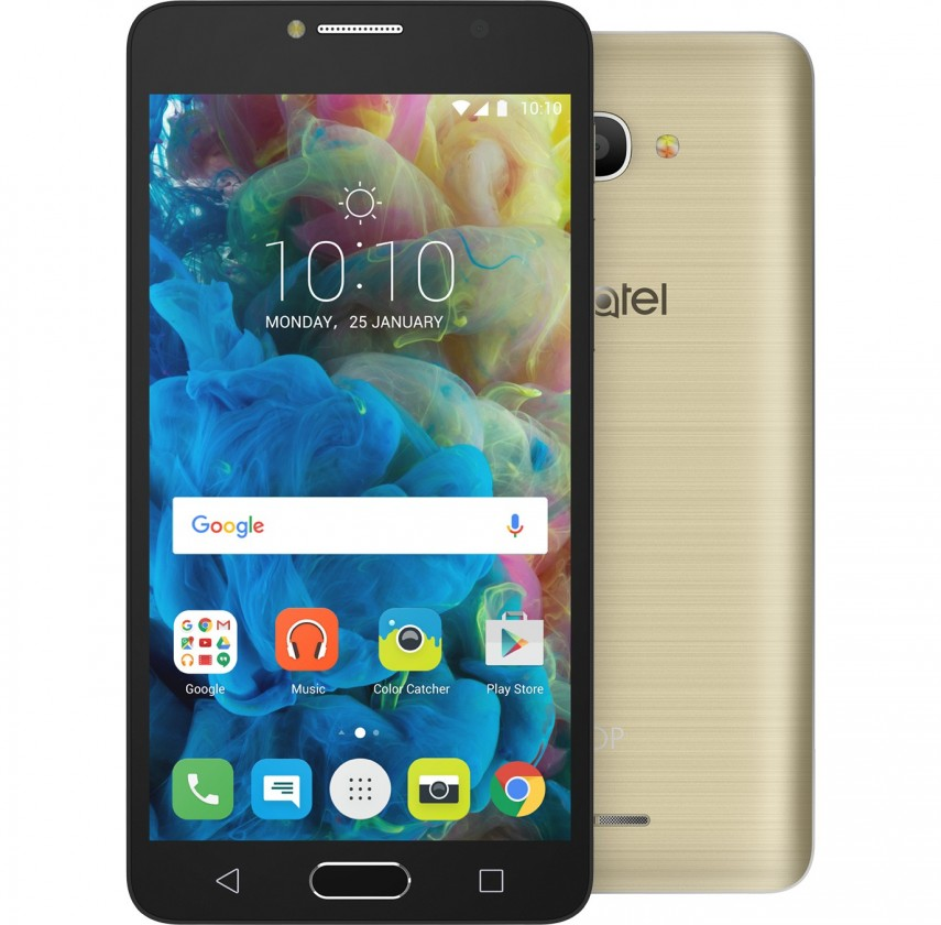 Android Alcatel POP 4S 5095K, zlatá
