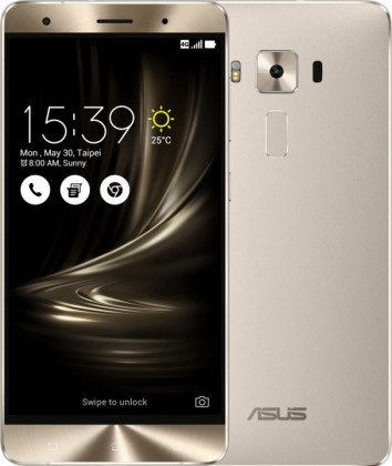Android ASUS ZenFone 3 Deluxe ZS570KL, stříbrná